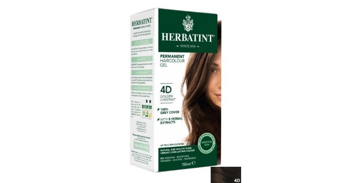 Buy Herbatint Hair Colours 4d Golden Chestnut Online Faithful To