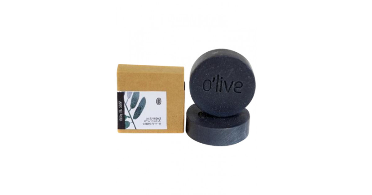 Buy O\'live Activated Charcoal & Cedarwood Soap Online | Faithful ...
