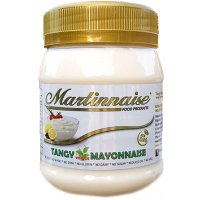 Martinnaise Vegan Tangy Mayonnaise (Salad Mayonnaise)