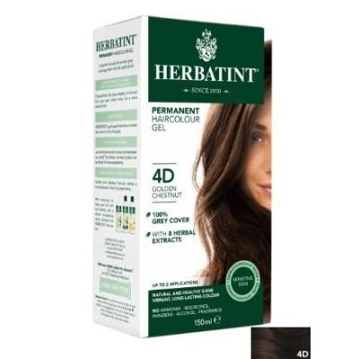 Herbatint Hair Colours - 4D Golden Chestnut