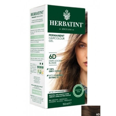 Herbatint Hair Colours - 6D Dark Golden Blonde
