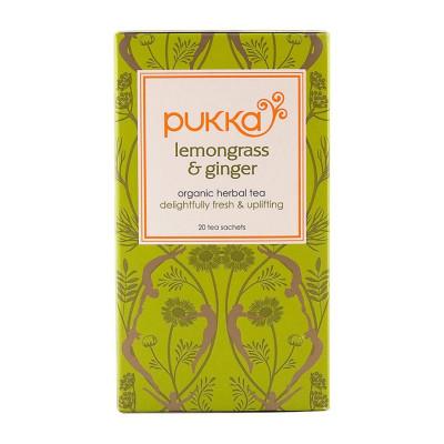 Pukka Lemongrass and Ginger Tea