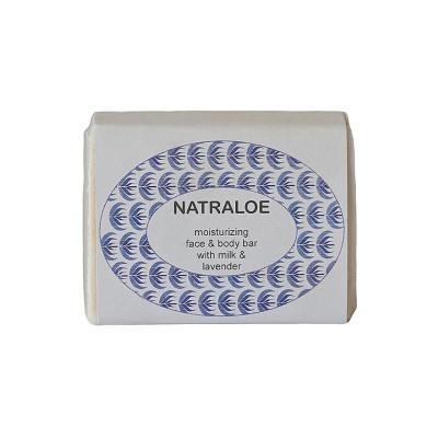 Natraloe Aloe & Milk Soap - Lavender