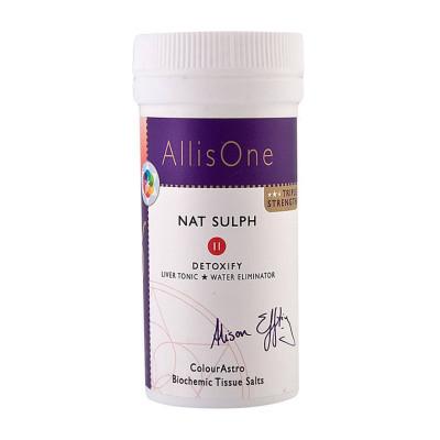 AllisOne Tissue Salts - Nat Sulph (Detoxify)
