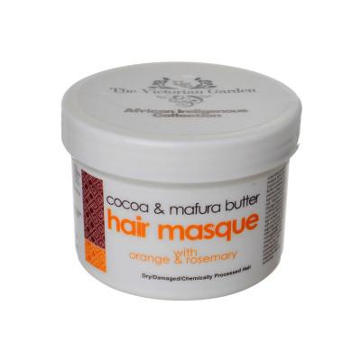 Cocoa & Mafura Butter Hair Masque with Orange & Rosemary