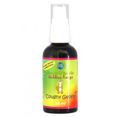 Pure Herbal Remedies Kiddies Coughy Geoffy