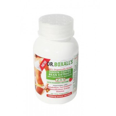 Dr Boxall's Green Coffee Bean Extract with Raspberry Ketones