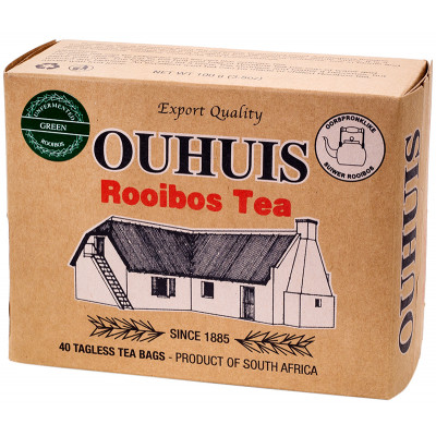 OUHUIS Green Unfermented Rooibos Tea