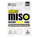 King Soba Organic Mighty Miso Soup with Edamame Soya Beans