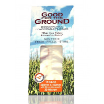 Good For The Ground Biodegradable Compostable Film Bags (small)