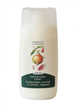 Earthsap Pomegranate & Cranberry Hand & Body Lotion