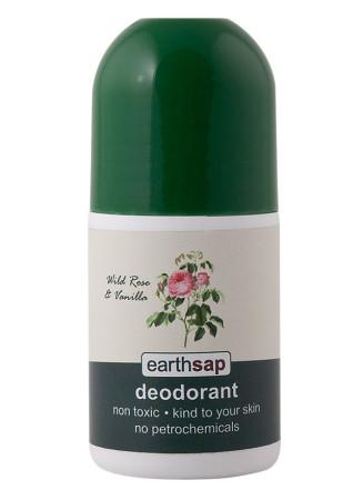 Earthsap Wild Rose & Vanilla Roll-On Deodorant