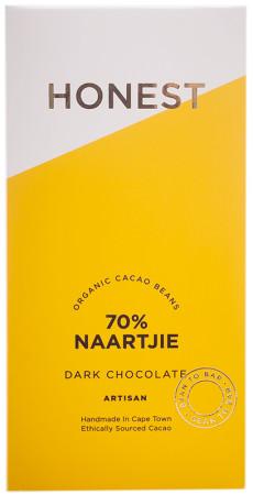Honest Chocolate Slab 70% - Naartjie