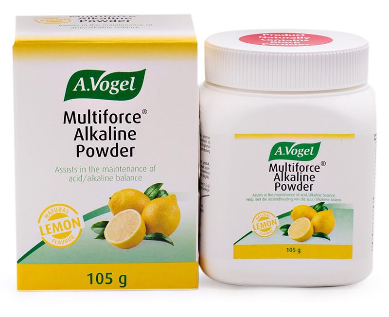 Buy A Vogel Multiforce Alkaline Powder Lemon 105g Online