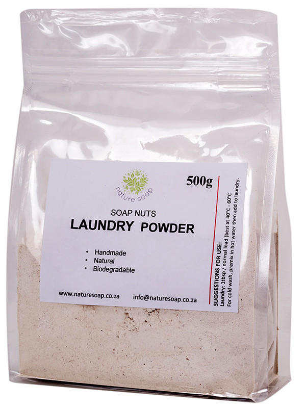 How to use soap nut powder