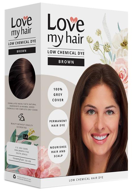 Love My Hair Ultra Low Chemical Brown Hair Dye
